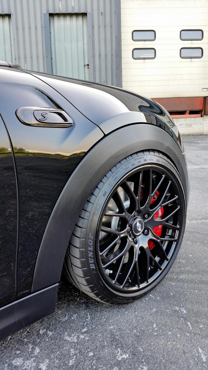 Black F56 From Belgium 267hp Amp Jcw Brakes 2015 Mini
