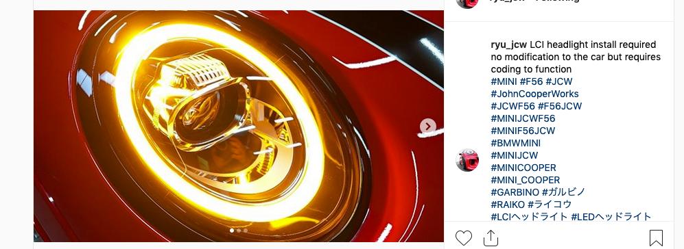 F56 LCI LED Headlights fit pre LCI cars?   Mini Cooper Forum