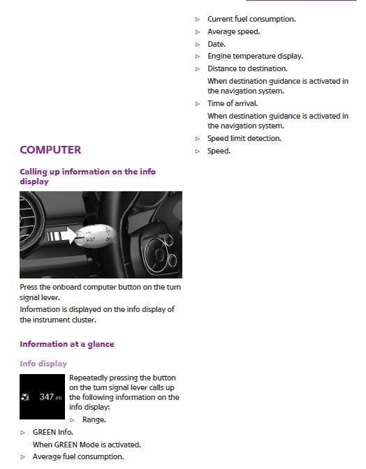 NO KM/MPH Digital Display When Driving ?? | Mini Cooper Forum