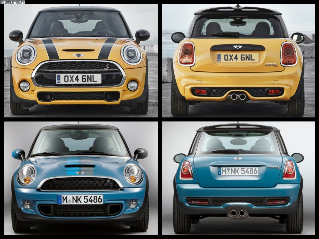 f56 mini cooper s vs r56 mini cooper s 2015 mini cooper. Black Bedroom Furniture Sets. Home Design Ideas