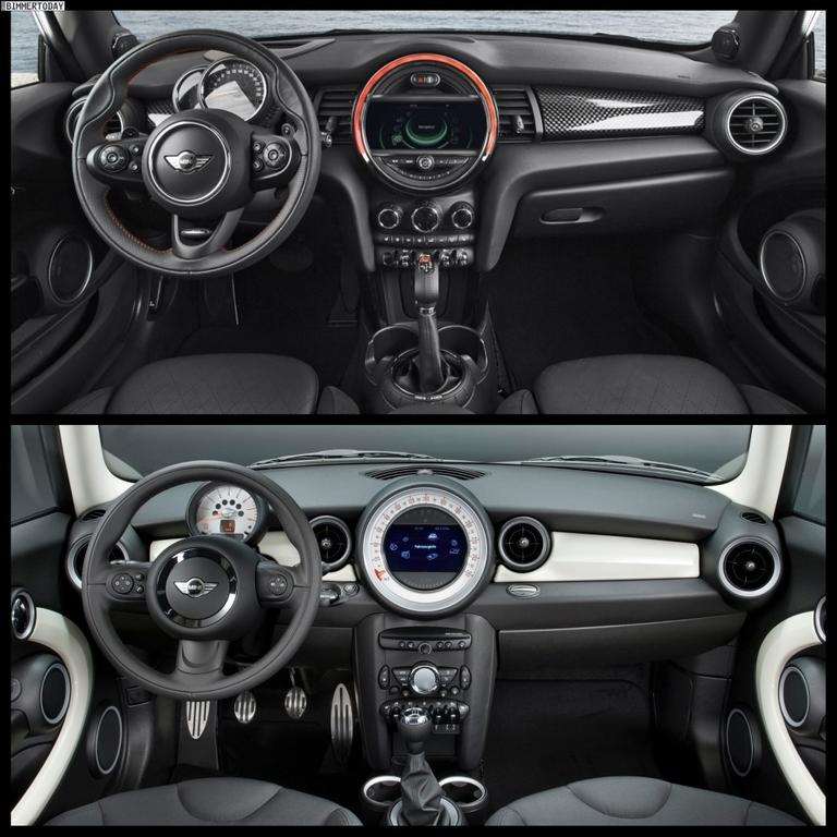 First vs 2013 R56 Mini